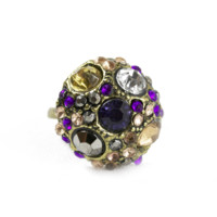 Jeweled Cluster Ring