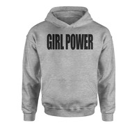 Girl Power Youth-Sized Hoodie