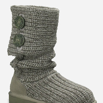 Ugg Classic Cardy Girls Boots Grey  In Sizes