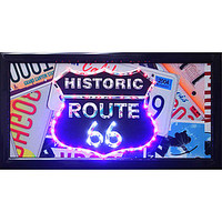 Historic Route 66 LED Sign