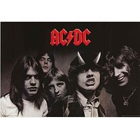 AC/DC Highway to Hell Album Cover Poster 24x36