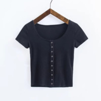 FREE SHIPPING A new dress for the summer dress and a single-breasted T-shirt