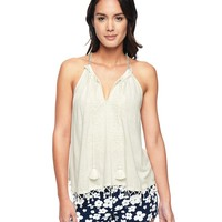 Embroidered Halter Top by Juicy Couture
