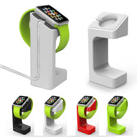 Newest Fashion Design Luxury Desktop Stand Holder Charger Cord Hold E7 Stand Holder For Apple Smart Watch iWatch holder keeper