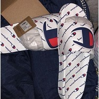 shosouvenir Champion Lots and lots of logo slippers