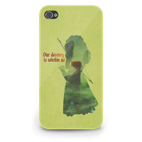 Merida Quote Brave Pixar Disney - Hard Cover Case iPhone 5 4 4S 3 3GS HTC Samsung Galaxy Motorola Droid Blackberry LG Sony Xperia & more