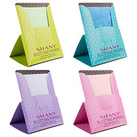 On-the-go Oil Blotting Papers - Set of Four with 100 Super Oil Absorbent Sheets
