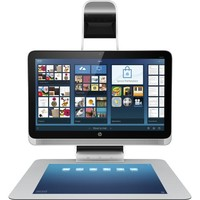 "HP - Sprout 23"" Touch-Screen All-In-One - Intel Core i7 - 8GB Memory - 1TB Hard Drive - Black/Silver"