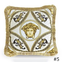 Versace 2018 new retro style light luxury stylish sofa pillow F0933-1 #5