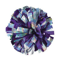 Save on 2 Color Holographic Mix Youth Cheerleading Pom Poms