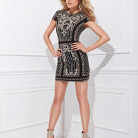 Homecoming Dresses - Tony Bowls Shorts TS11483 Reversible Dress