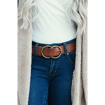 Just Right For Me Belt (Tan)