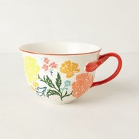 Arboretum Mug by Anthropologie Coral Mug Mugs
