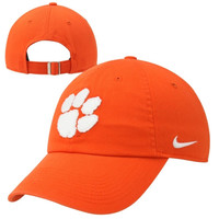 Nike Clemson Tigers Ladies Campus Adjustable Performance Hat - Orange