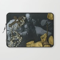 The Incredulity of Saint Thomas Laptop Sleeve by Alayna H.