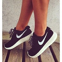 "simpleclothesv : ""NIKE"" Roshe One Women Casual Sport Shoes Sneakers"