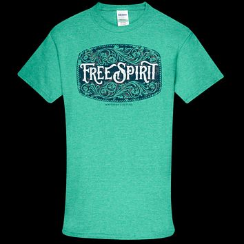 Southern Couture Soft Collection Free Spirit front print T-Shirt
