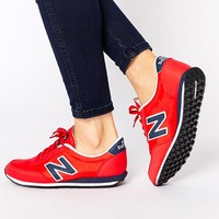 New Balance 410 Red Trainers