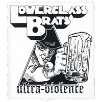 Lower Class Brats Men's Ultra Violence Cloth Patch White