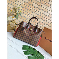 LV Louis Vuitton WOMEN'S DAMIER CANVAS NORMANDY HANDBAG INCLINED SHOULDER BAG