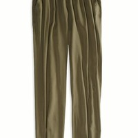 AEO Women's Soft Cinched Pant (Olive)