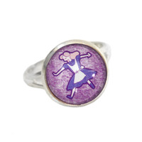 Alice Ring - Wonderland Gift - Twisted Pixies