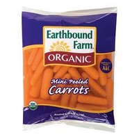 Earthbound Farm Organic Mini Peeled Baby Carrots 1 lb