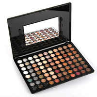 80 Color Eyeshadow Palette with Mirror