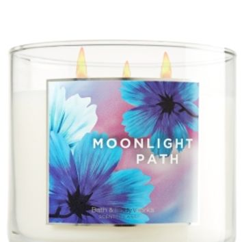 Moonlight Path 14.5 oz. 3-Wick Candle   - Slatkin & Co. - Bath & Body Works