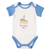 Luvable Friends First Birthday Bodysuit | Affordable Infant Clothing