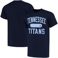 Men's Tennessee Titans NFL Pro Line Navy Athletic Issue T-Shirt