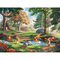Thomas Kinkade The Disney Dreams Collection Winnie the Pooh Jigsaw Puzzle - Puzzle Haven