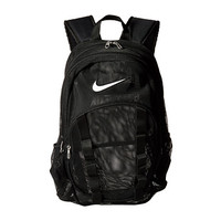 Nike Brasilia 7 Backpack Mesh Large Black/Black/White - Zappos.com Free Shipping BOTH Ways