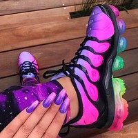 Nike Air Vapormax Plus Fashion Women Personality Air Cushion Running Sport Shoes Sneakers