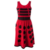 Doctor Who - Red Dalek Juniors A-Line Dress