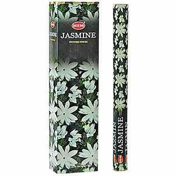 "Hem Jasmine 16""L Jumbo Sticks - 10 Sticks  (6 Packs Per Box)"