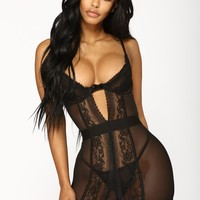 Some Type Of Way Two Piece Set - Black