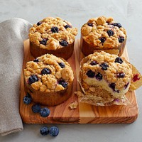Blueberry Crumbles, Set of 4