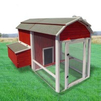 Precision Old Red Barn Chicken Coop | www.hayneedle.com