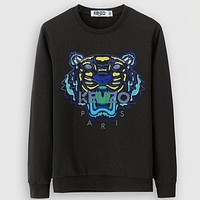 Kenzo Casual Simple Women Men Long Sleeve Shirt Top Tee