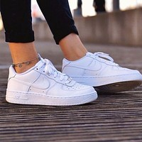 Nike air force 1 Multicolor selection Fashion Shoes Trending Sneakers White