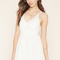 Contemporary Eyelet Dress
