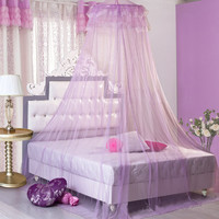 Mosquito Nets Curtain for Bedding Set 3 Colors Princess Bed Canopy Bed Netting Tent Mosquiteiros De Teto
