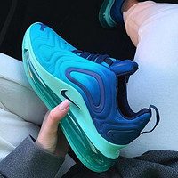 Nike Air Max 720 Hot Sale Women Leisure Air Cushion Sport Running Shoes Sneakers Blue