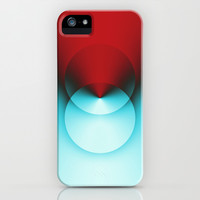 Color Lines XVIII iPhone & iPod Case by Rain Carnival