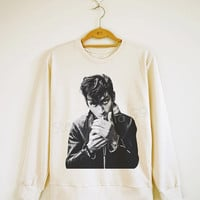 Alex Turner Shirt Arctic Monkeys Shirt Indie Rock Sweater Sweatshirt Jumpers Shirt Long Sleeve Shirt Women Shirt Unisex Shirt Size S,M,L