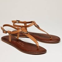 AEO Leather T-Strap Sandal | American Eagle Outfitters