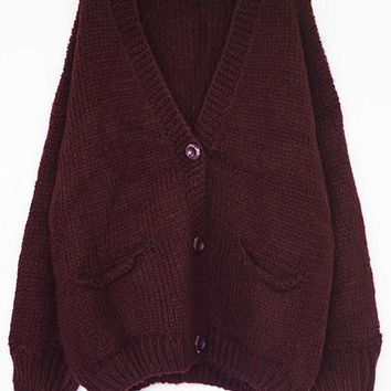 Cupshe Lust For Life Knitting Sweater Cardigan