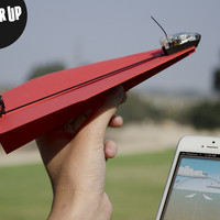 PowerUp 3.0 - Smartphone Controlled Paper Airplane — Kickstarter