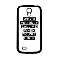 Personalised AM song lyrics Samsung Galaxy S4 Case